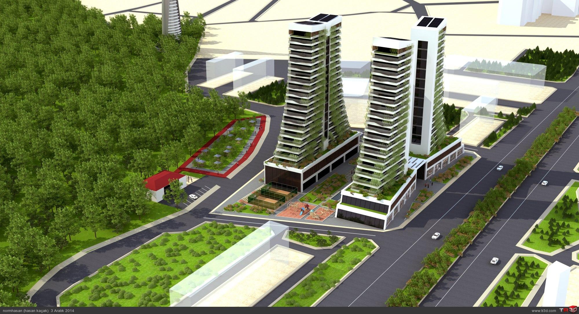 Green towers residance 4