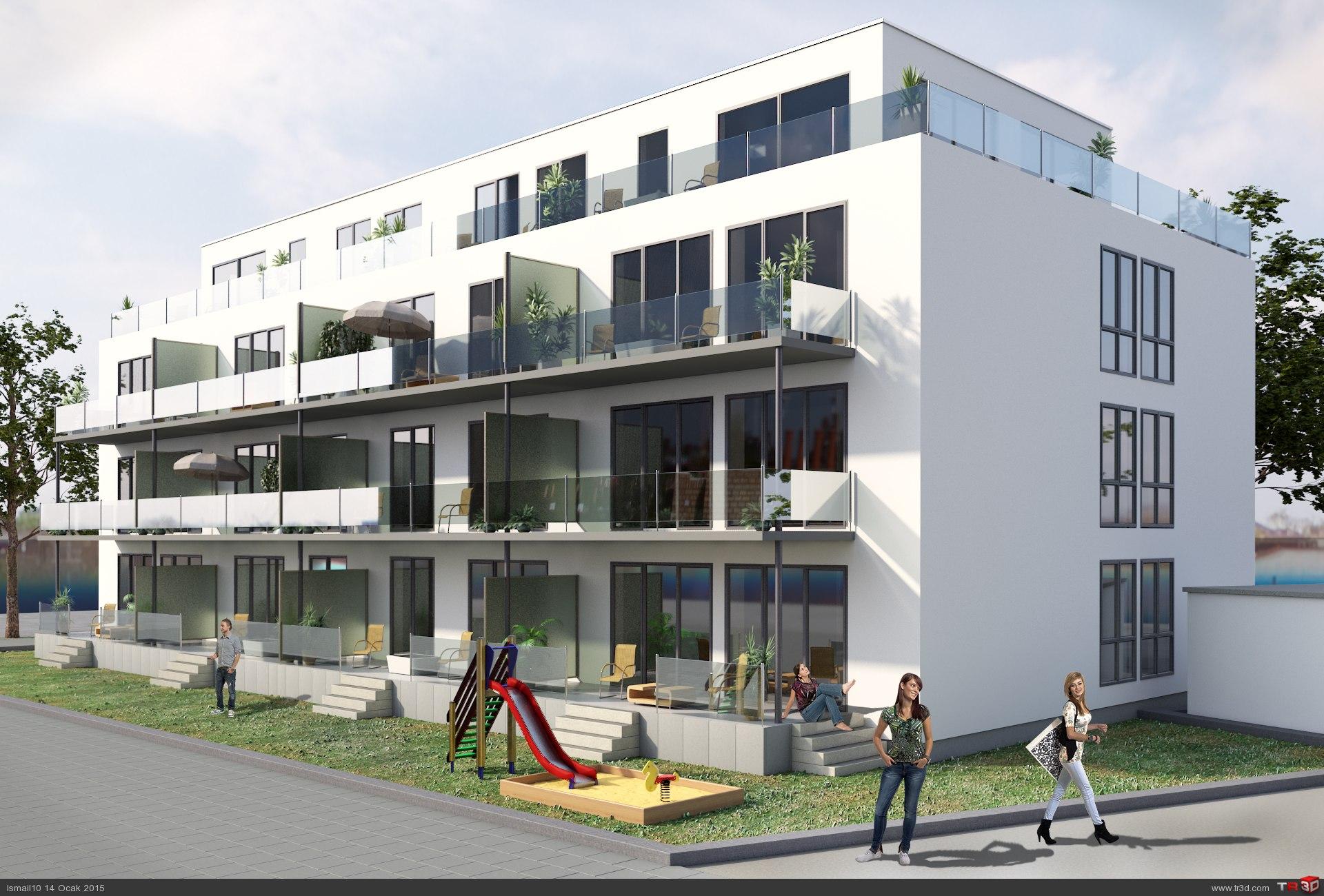 Almanya modern Villa