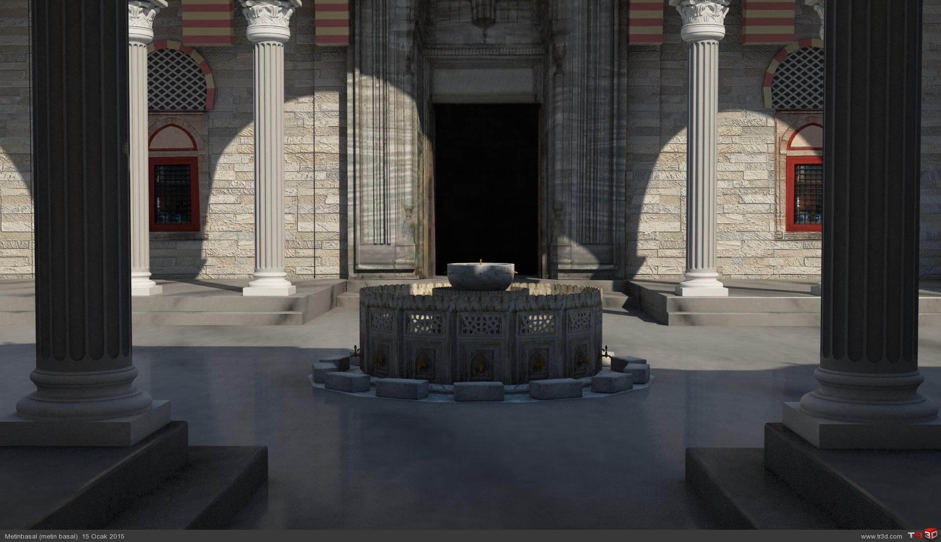 Mimar Sinan - Edirne Selimiye Camii 2