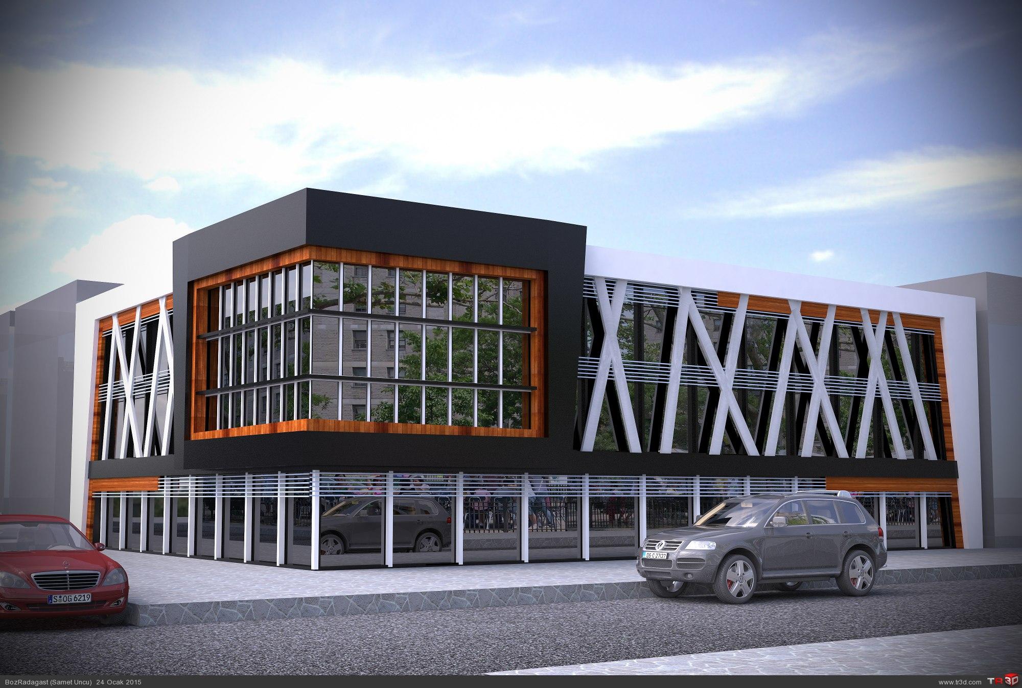 İş Merkezi Tasarımı 1