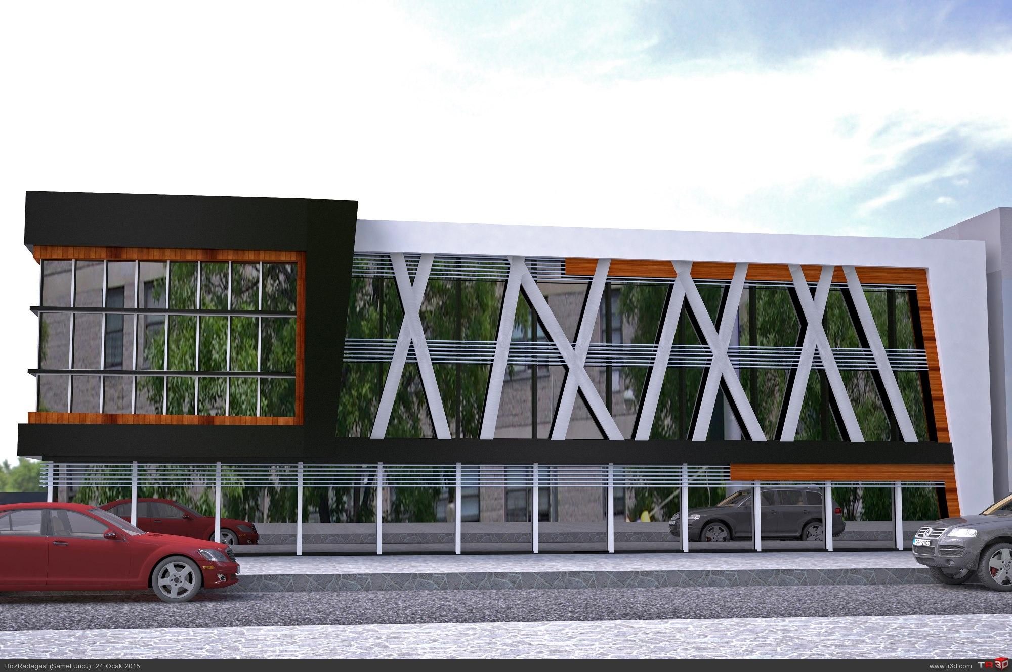 İş Merkezi Tasarımı 2