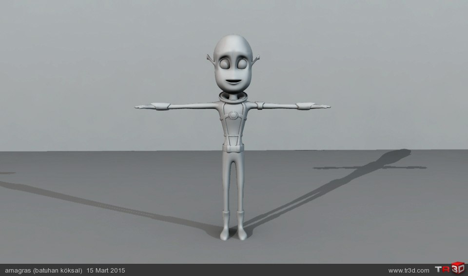 Animasyon Karakteri 4