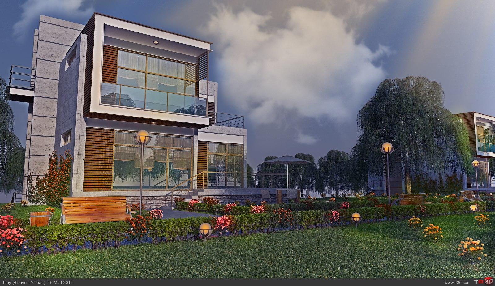 trio house estate 3