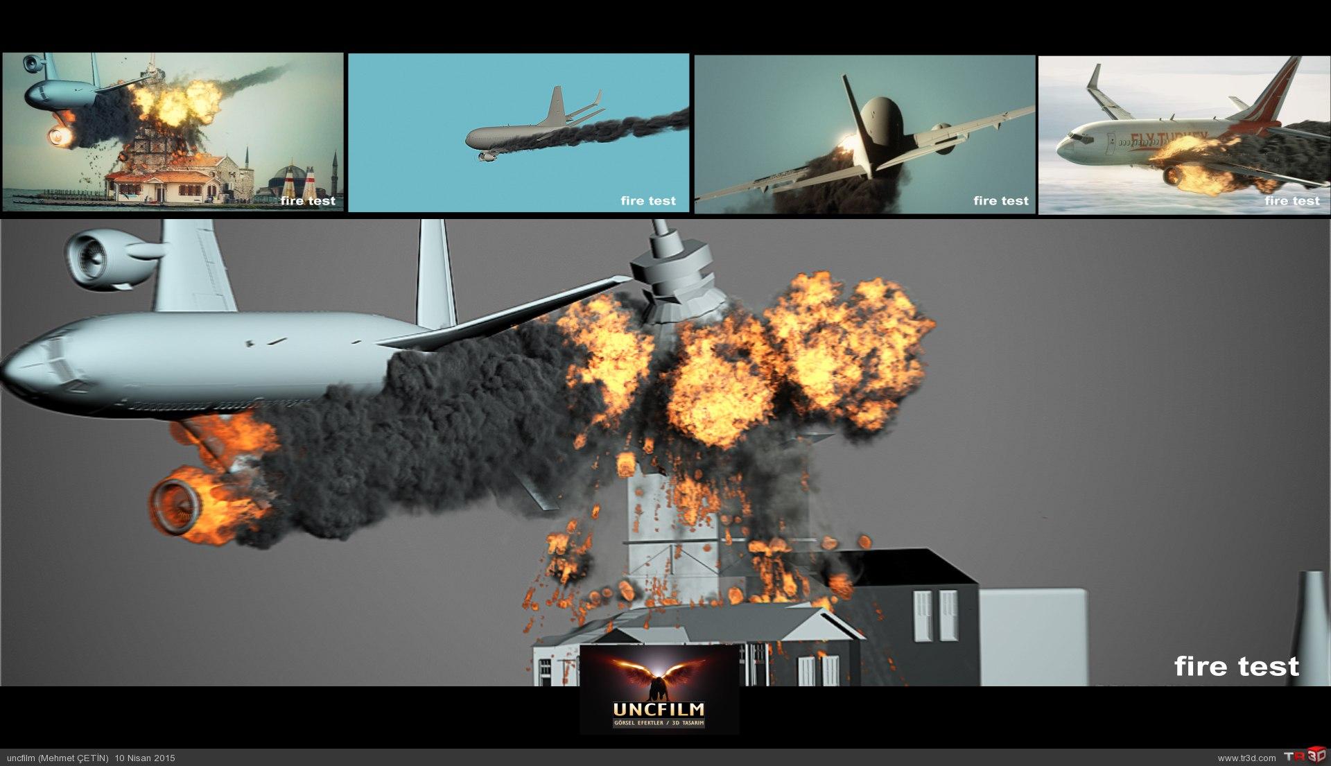 Dizi / Efekt / Uçak Düşme Test 1