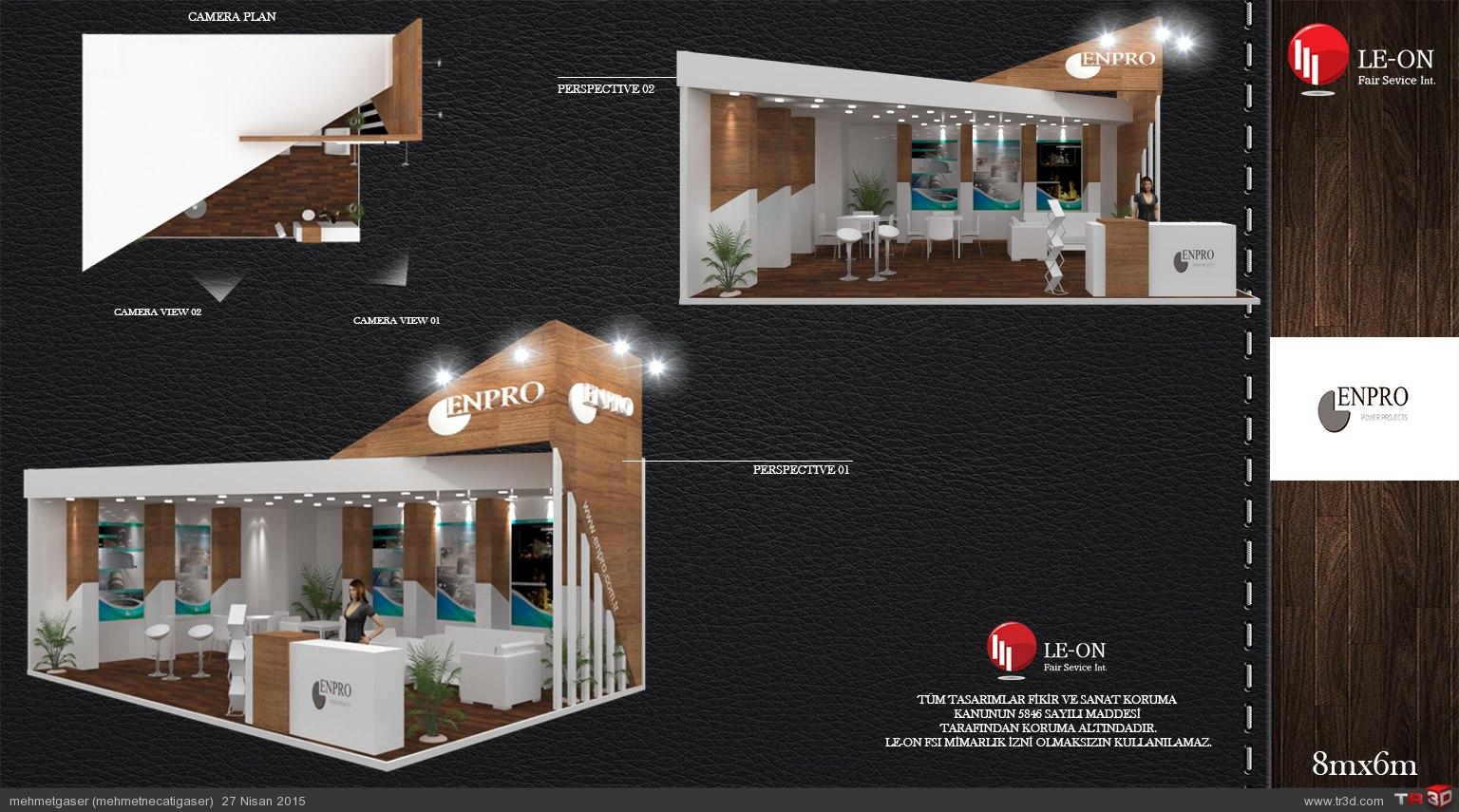 enpro stand design