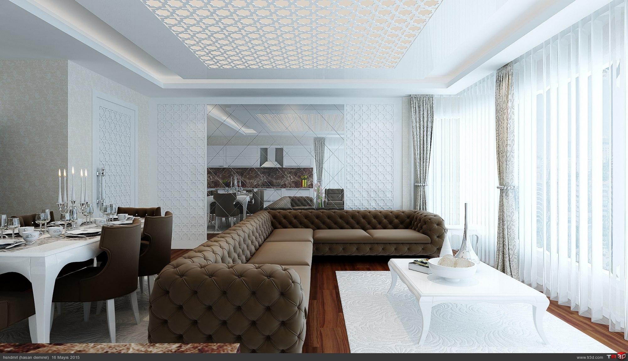 salon ve mutfak 1