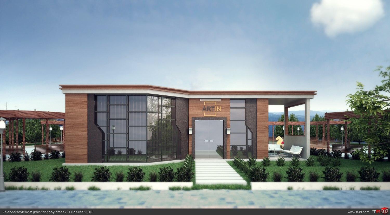 Satış ofisi tasarımı 2