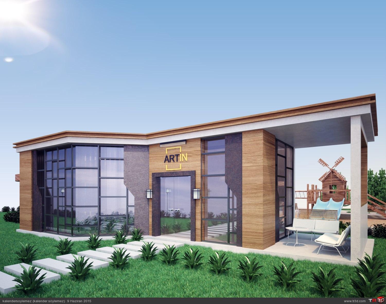 Satış ofisi tasarımı 3