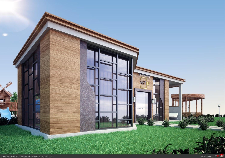 Satış ofisi tasarımı 4