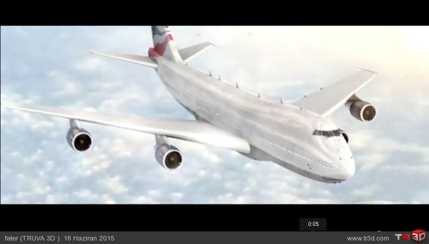 Air plane vfx