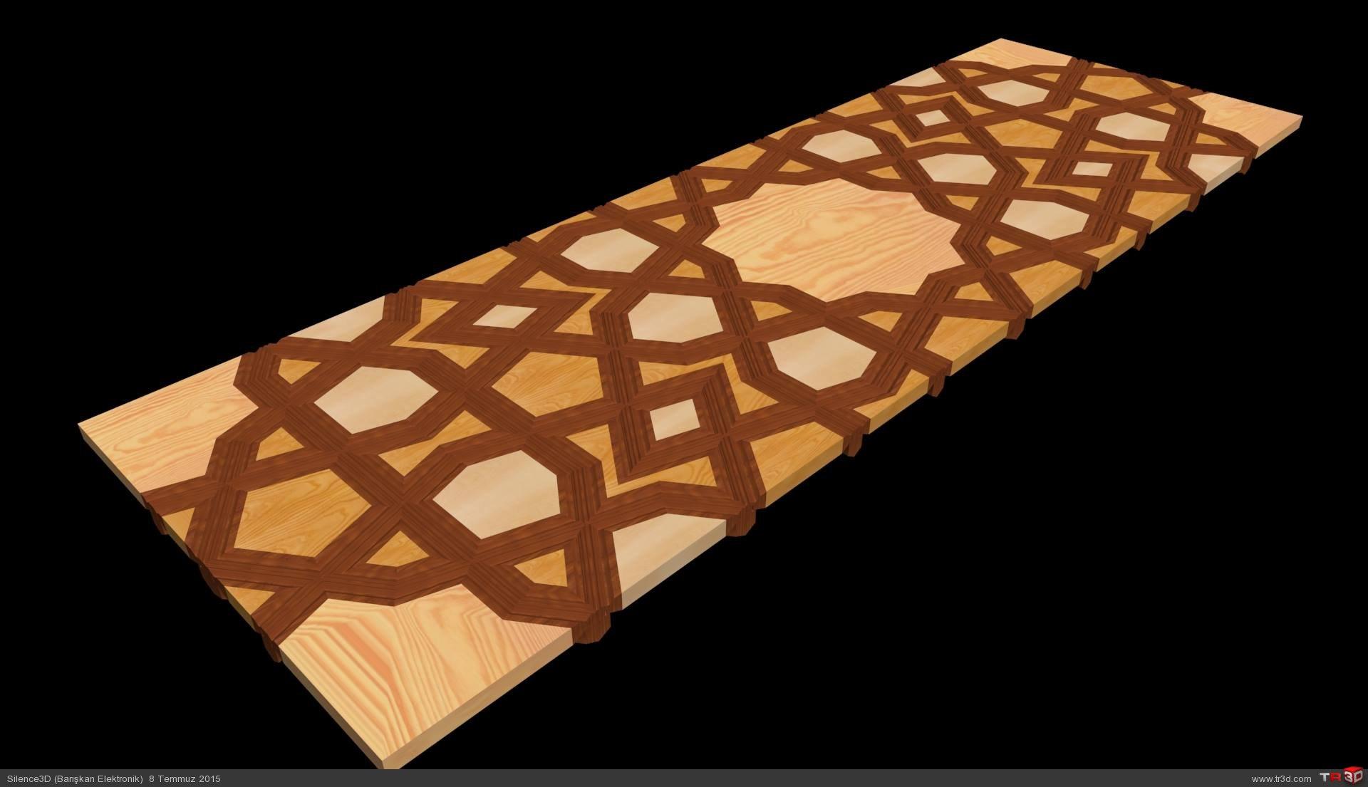 Tashkent Scroll Plate
