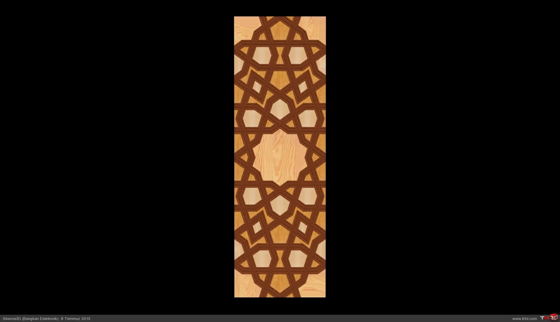 Tashkent Scroll Plate 2