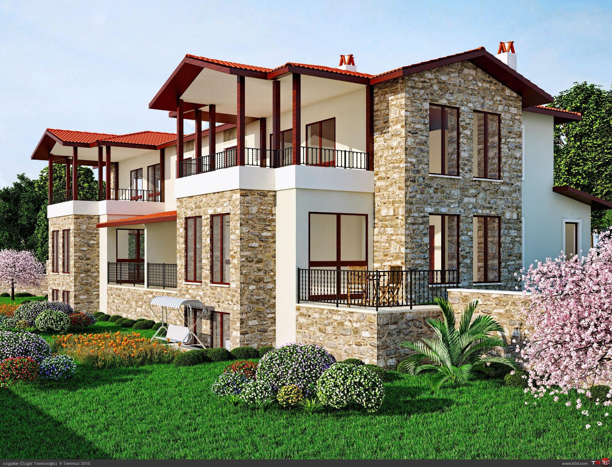 Çıtlık İkiz Villa