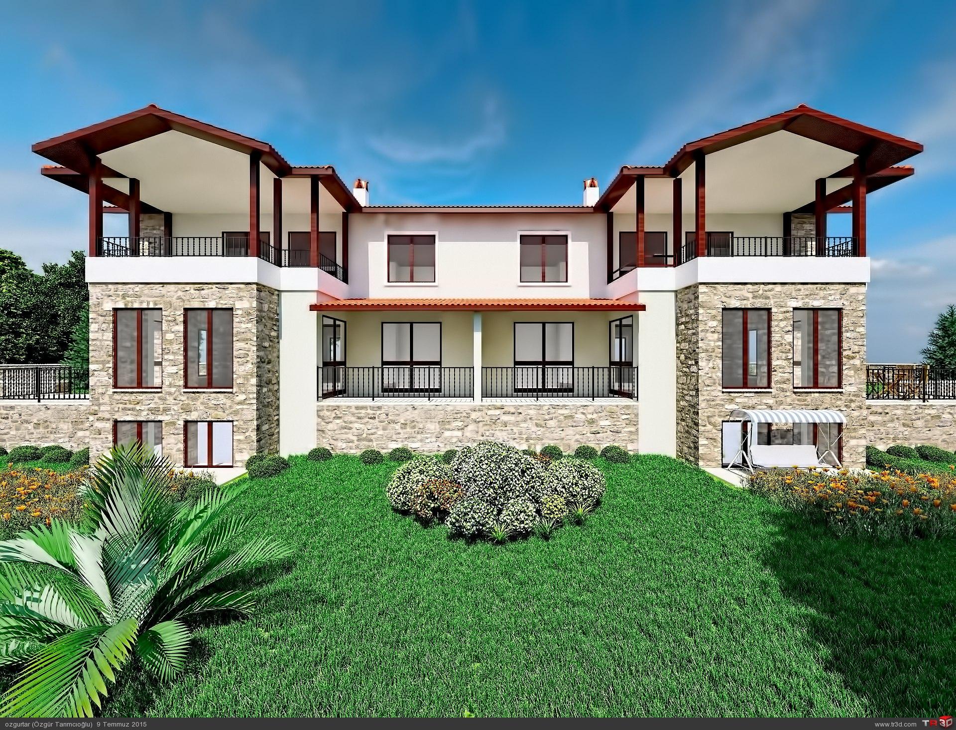 Çıtlık İkiz Villa  2