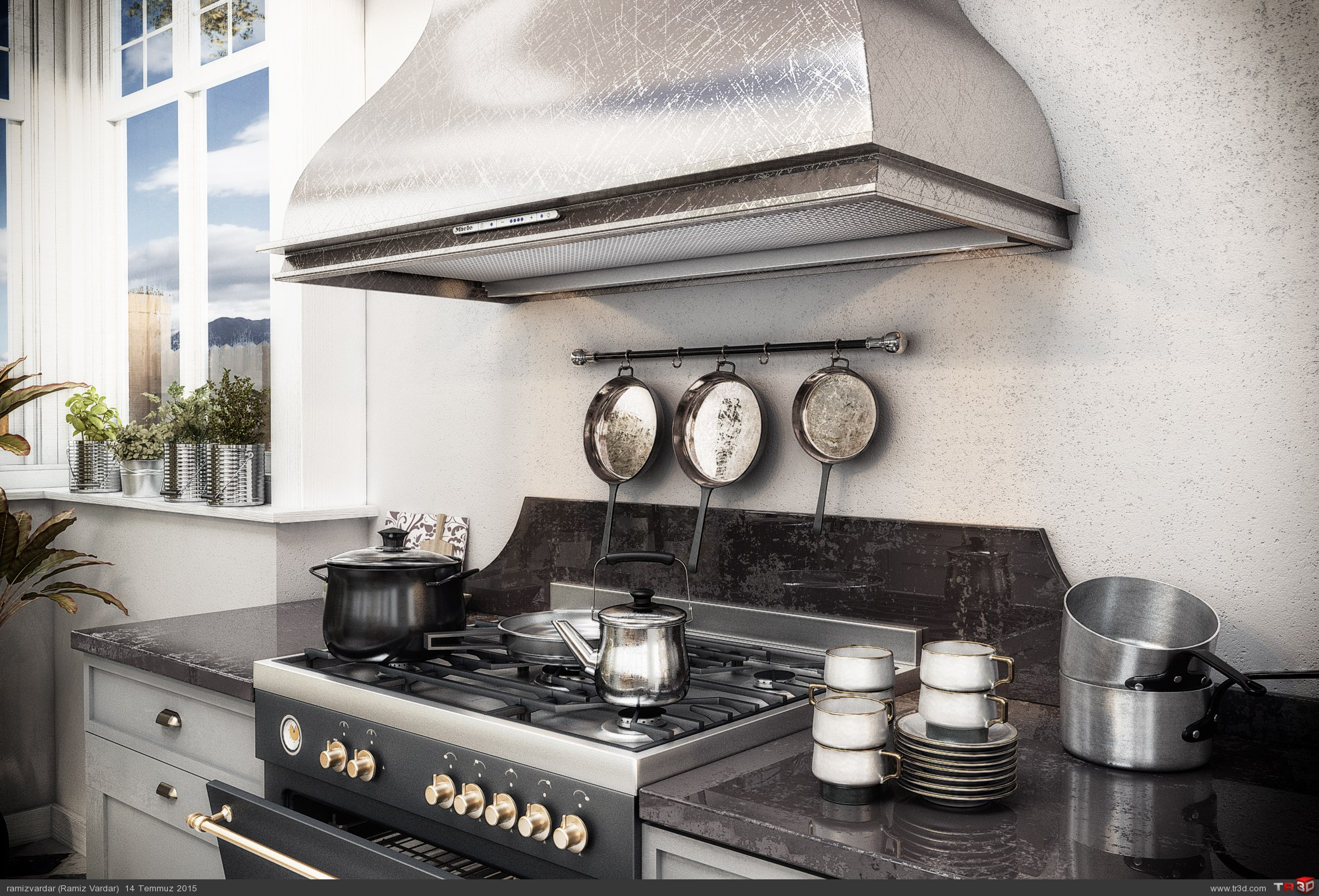 Scandinavian Kitchen 2