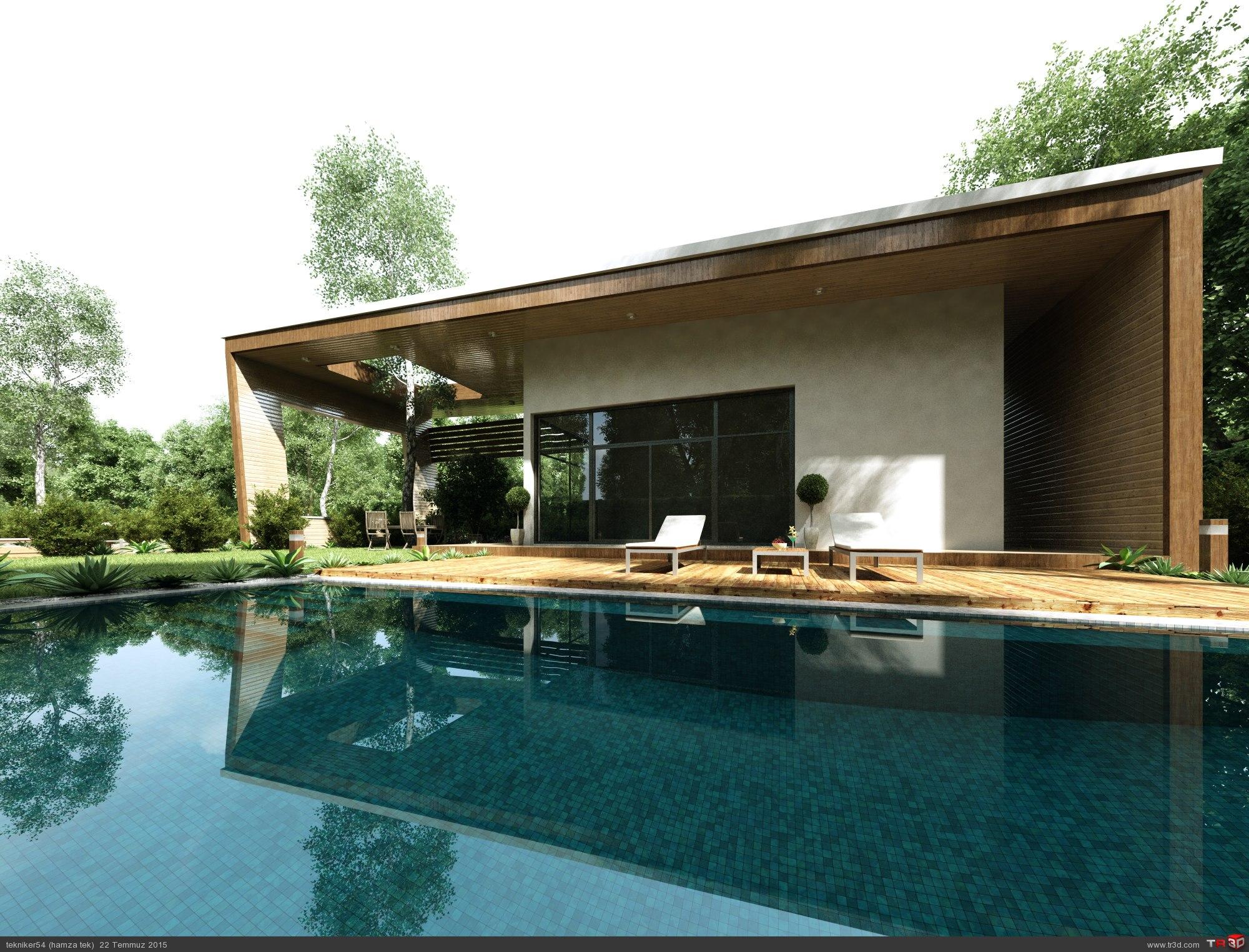 minimalist villa