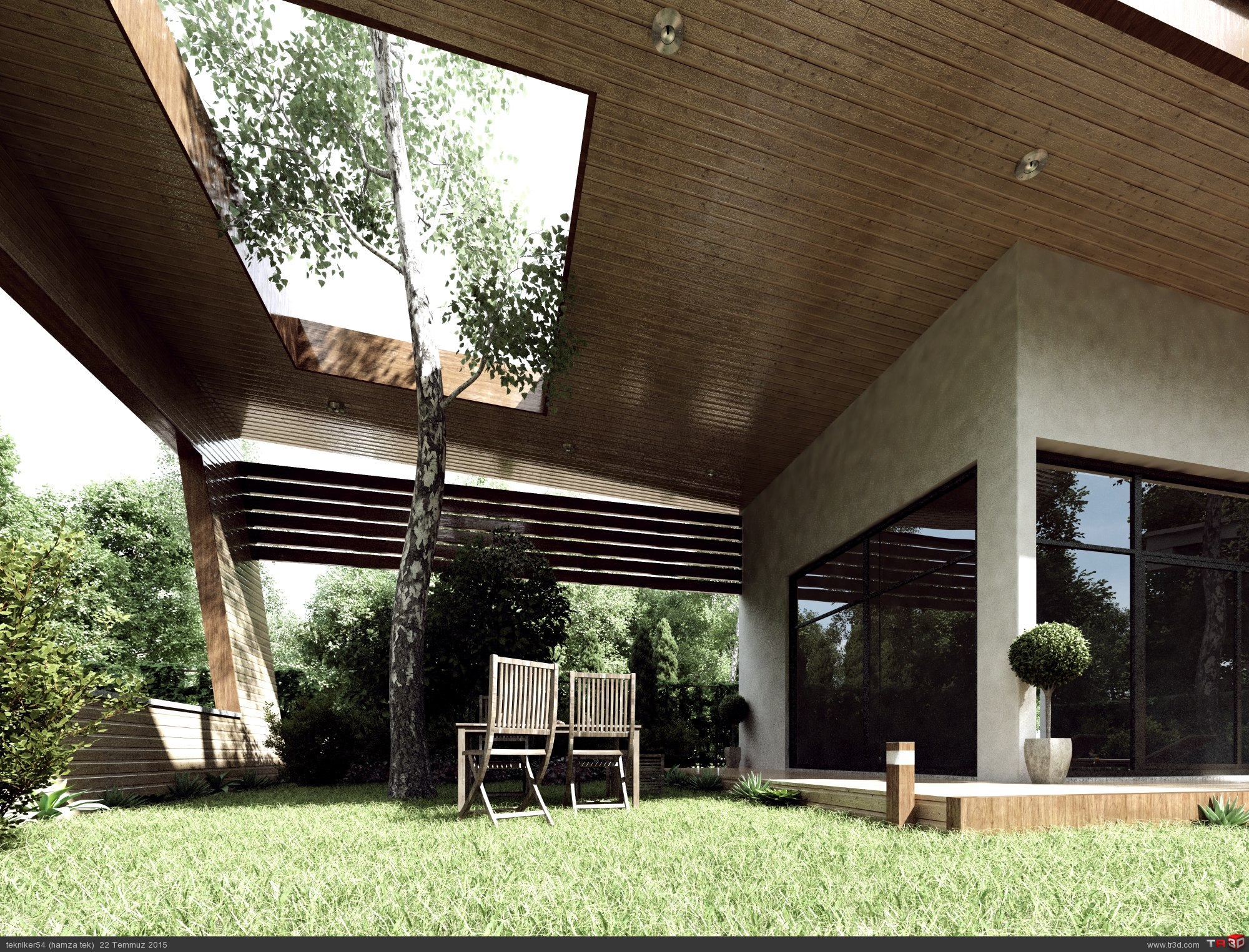 minimalist villa 1