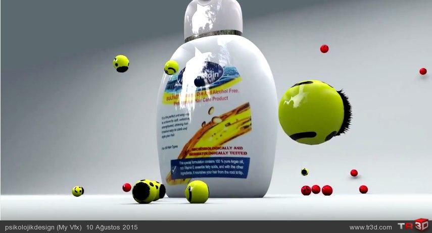 Şampuan Reklamı 1