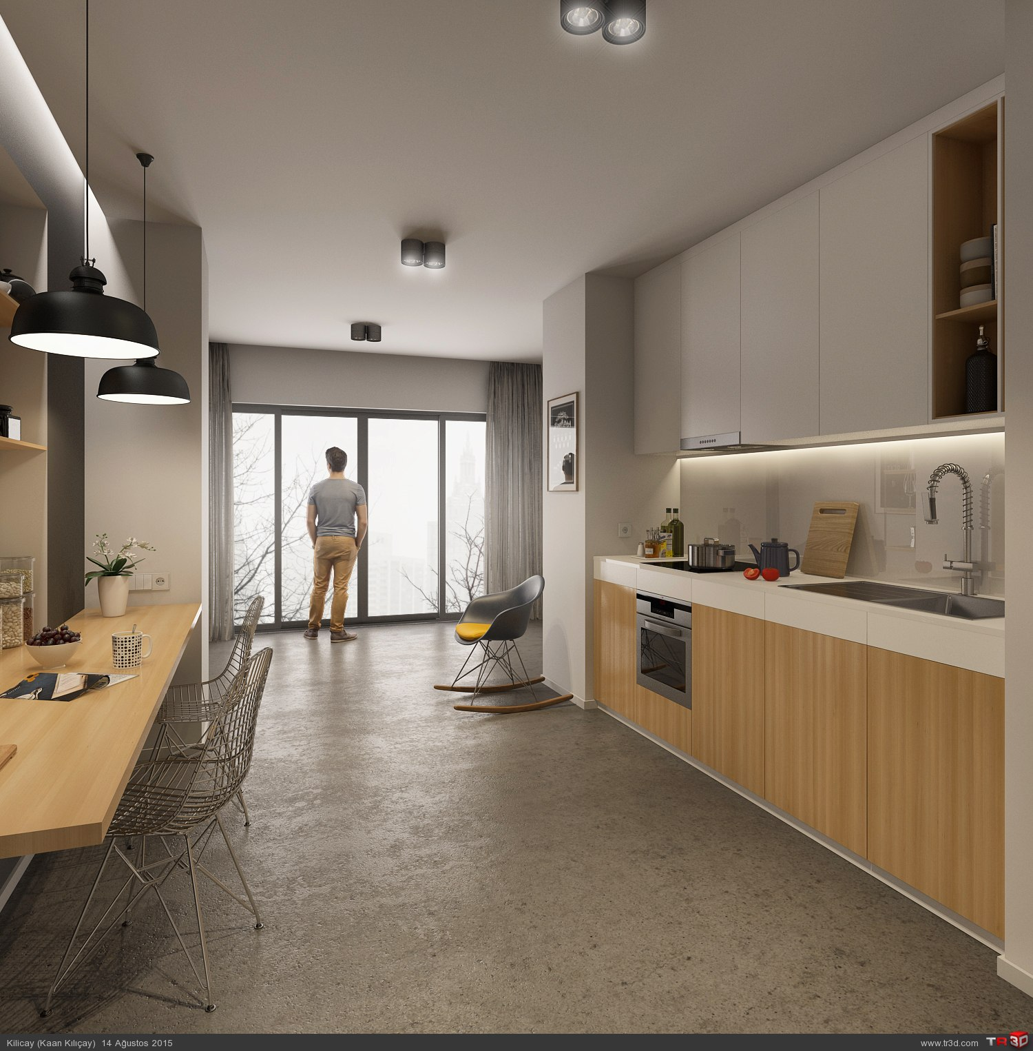 Kitchen - CGI