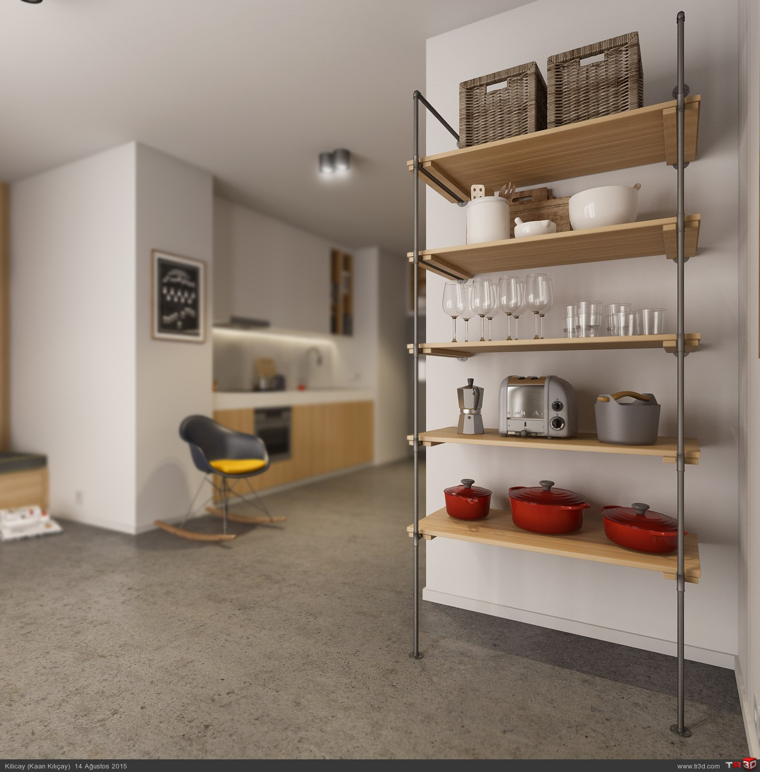 Kitchen - CGI 1
