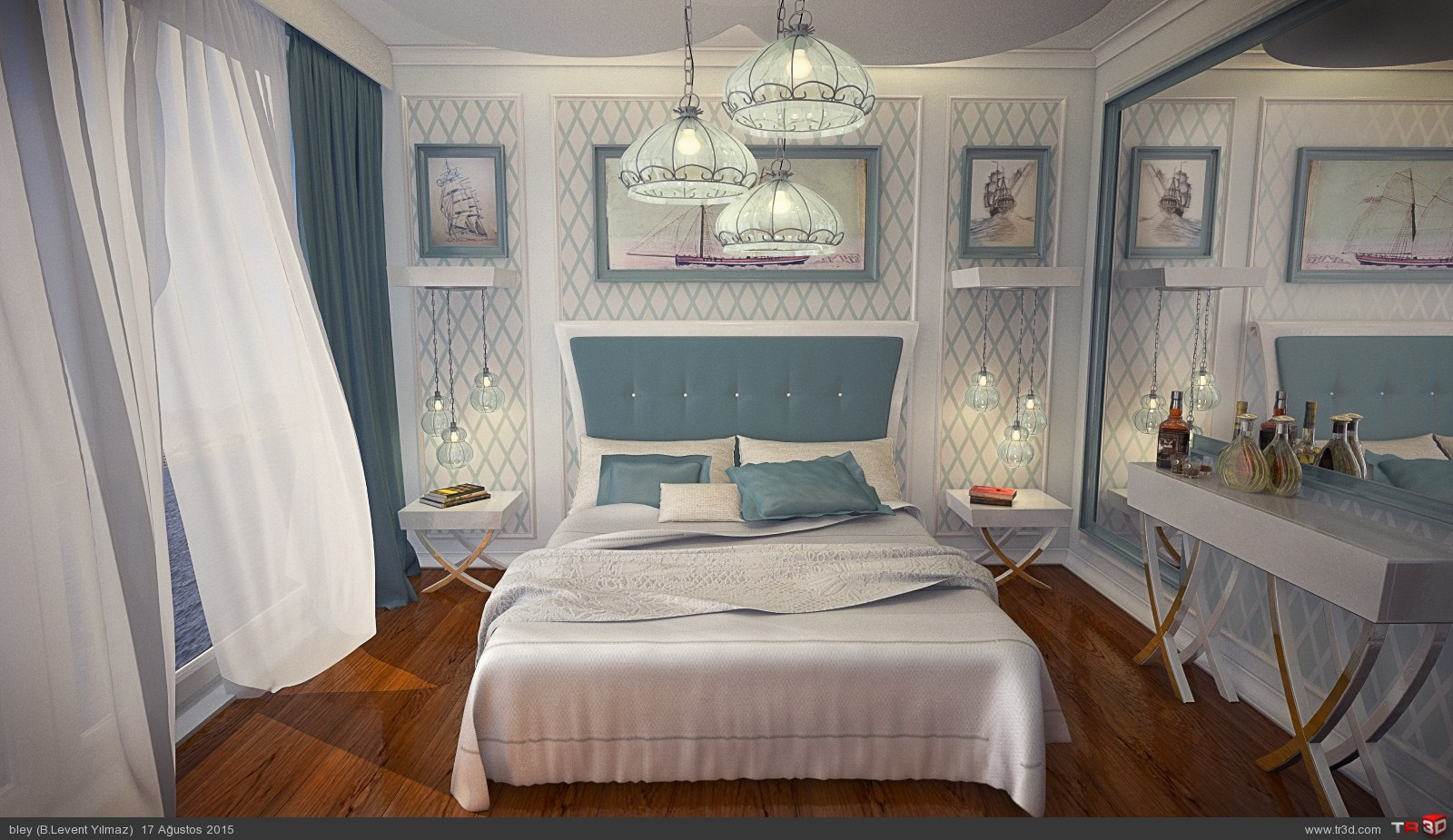 Floating Hotel Standart Room Design