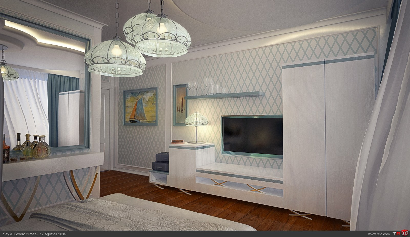 Floating Hotel Standart Room Design 1