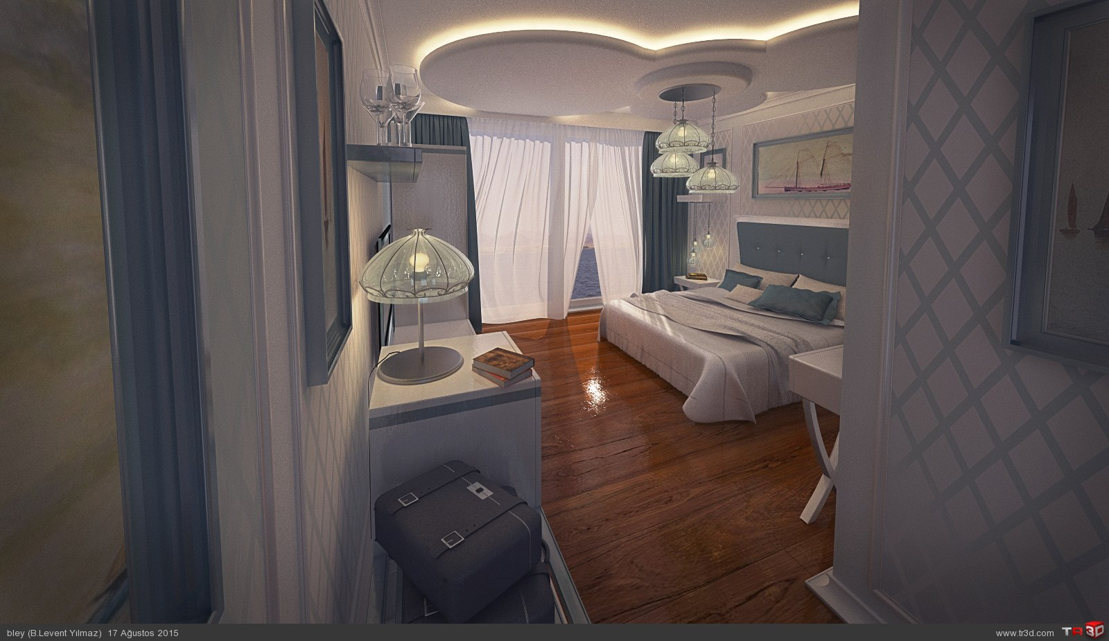 Floating Hotel Standart Room Design 2