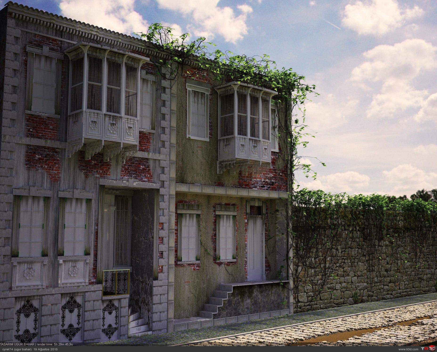 izmir rum evleri