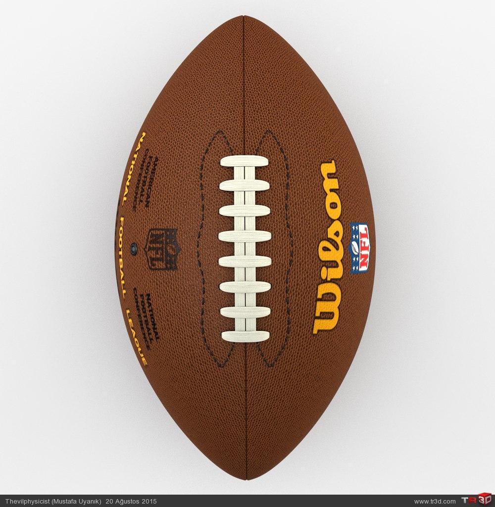 Amerikan Futbol Topu 1