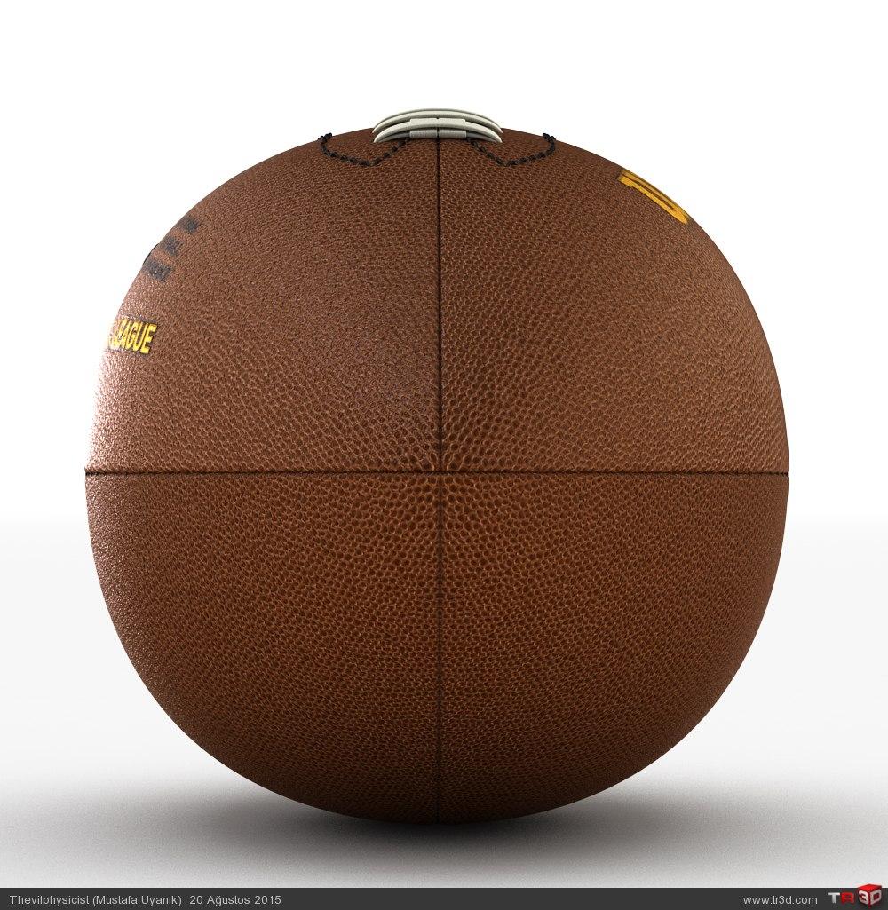 Amerikan Futbol Topu 4