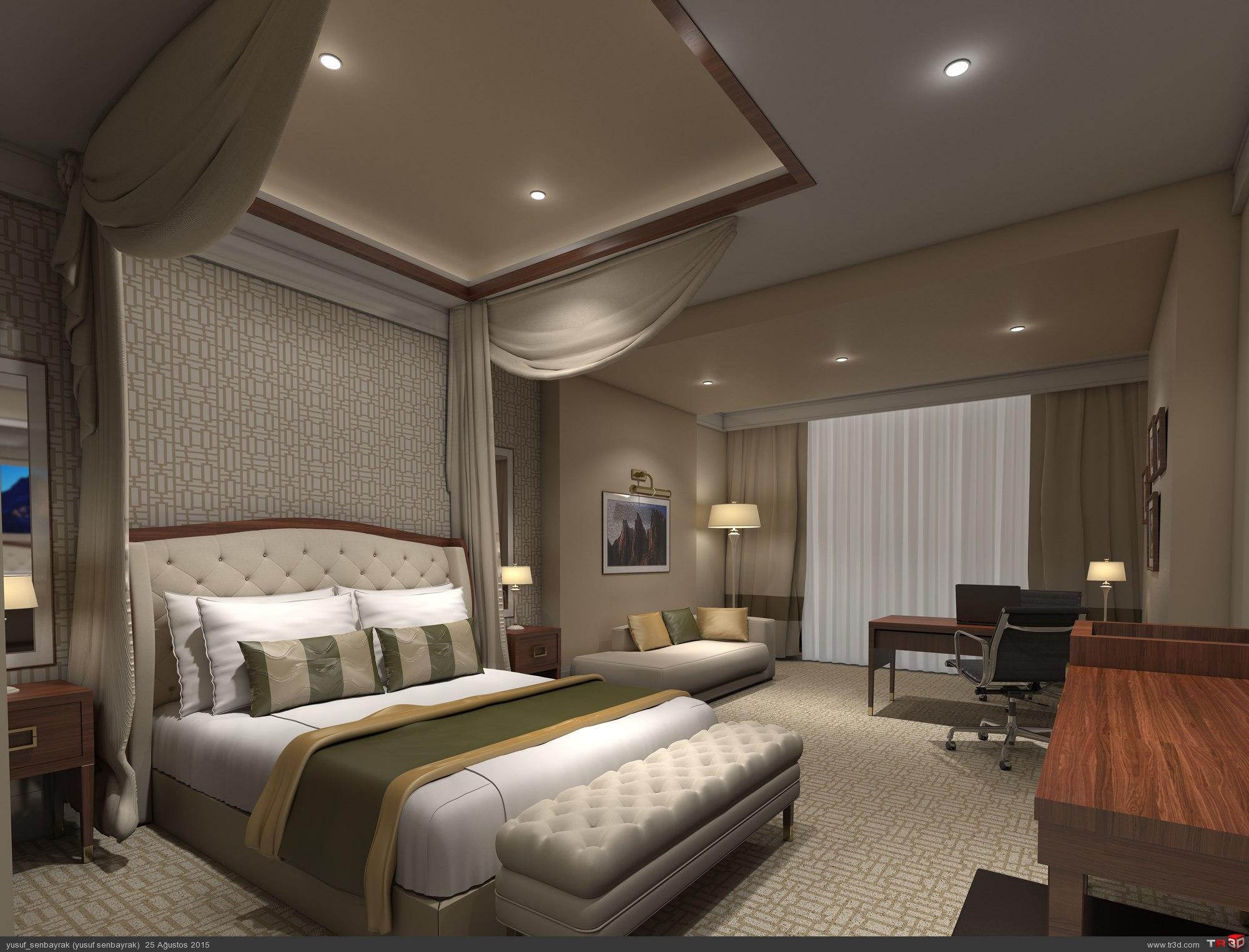 otel yatakodası