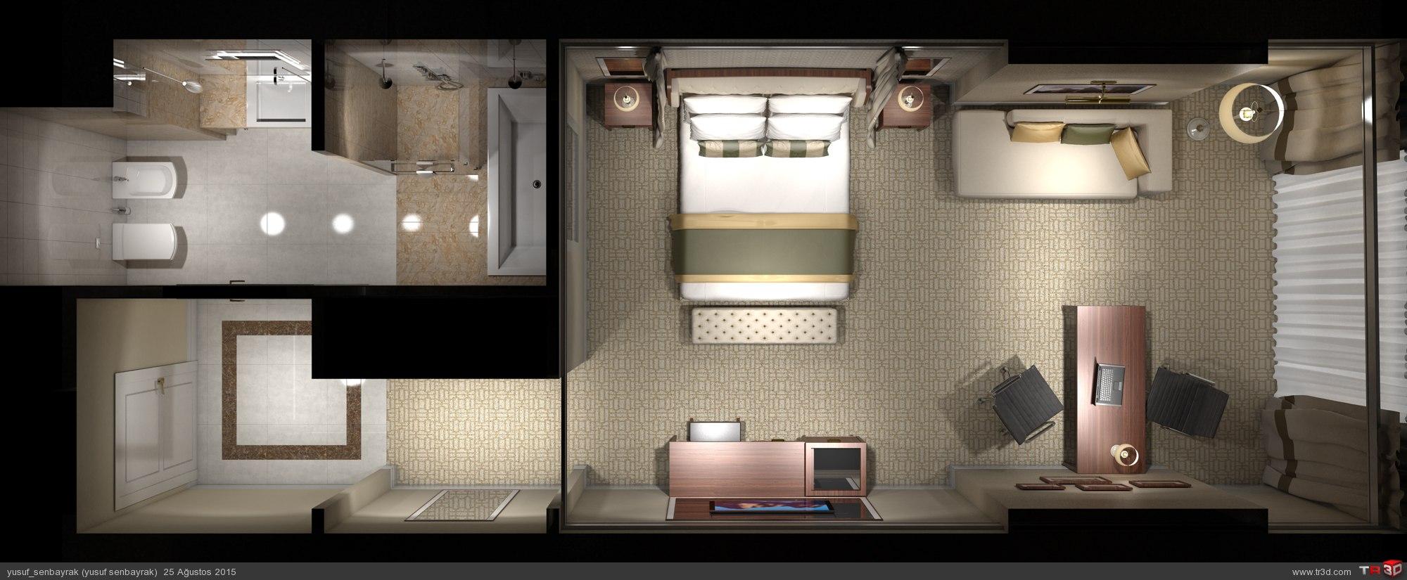 otel yatakodası 2