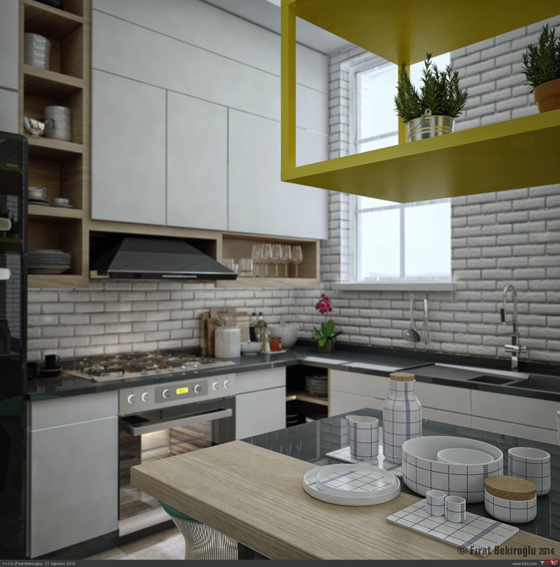 Sinpaş İncek Life-Mutfak Tasarımı 2