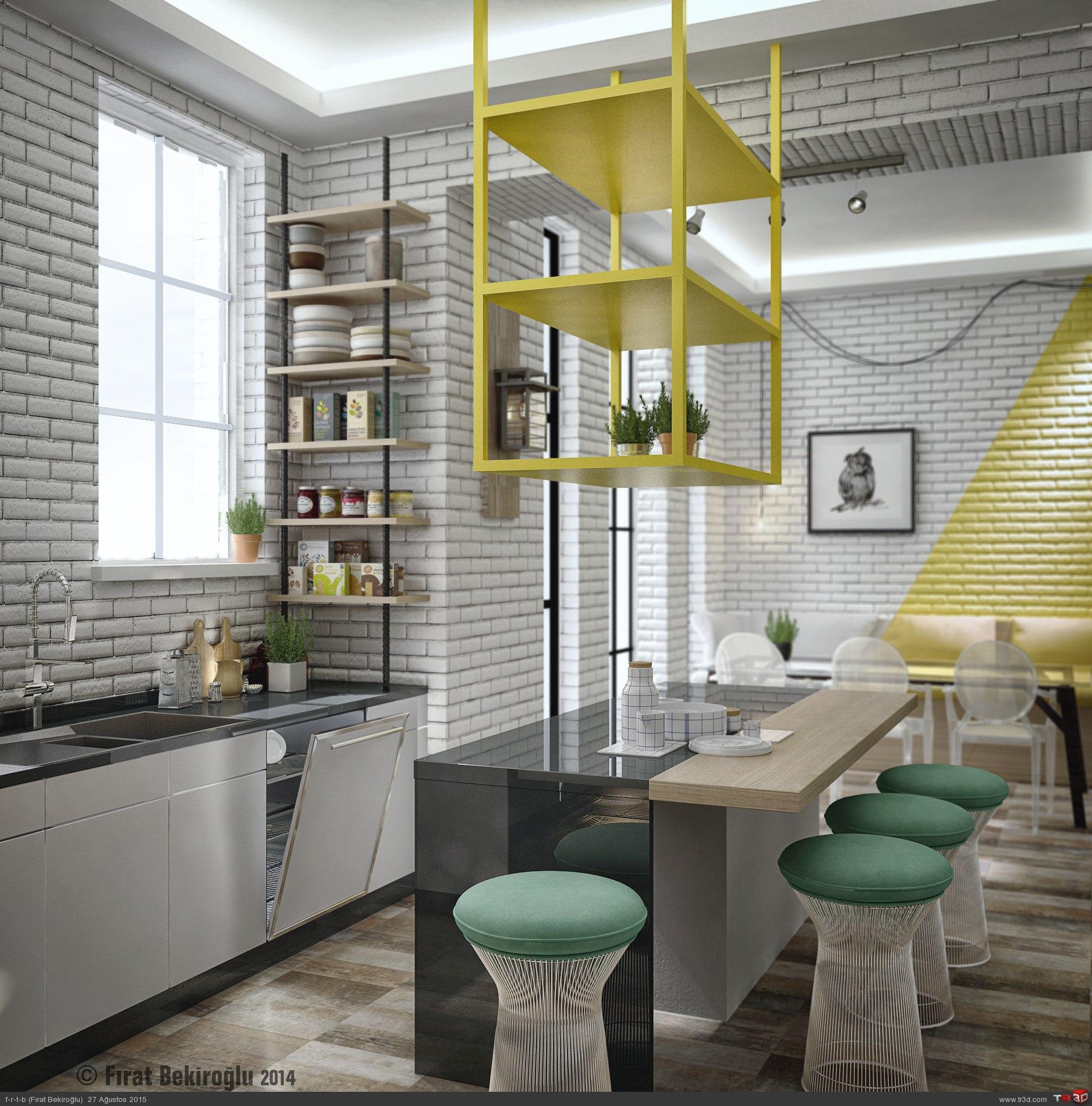 Sinpaş İncek Life-Mutfak Tasarımı 4