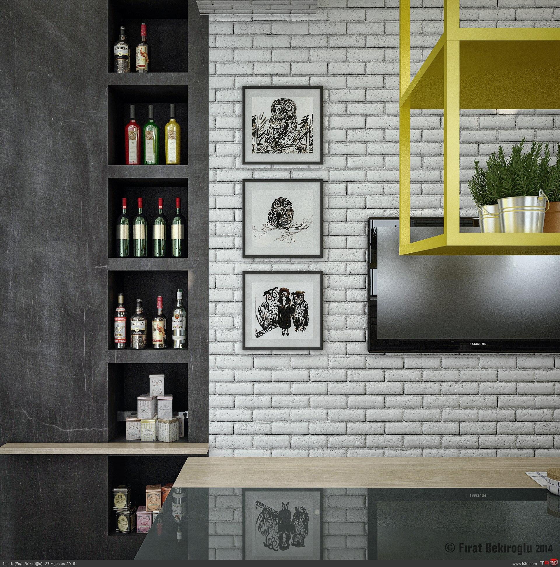 Sinpaş İncek Life-Mutfak Tasarımı 5