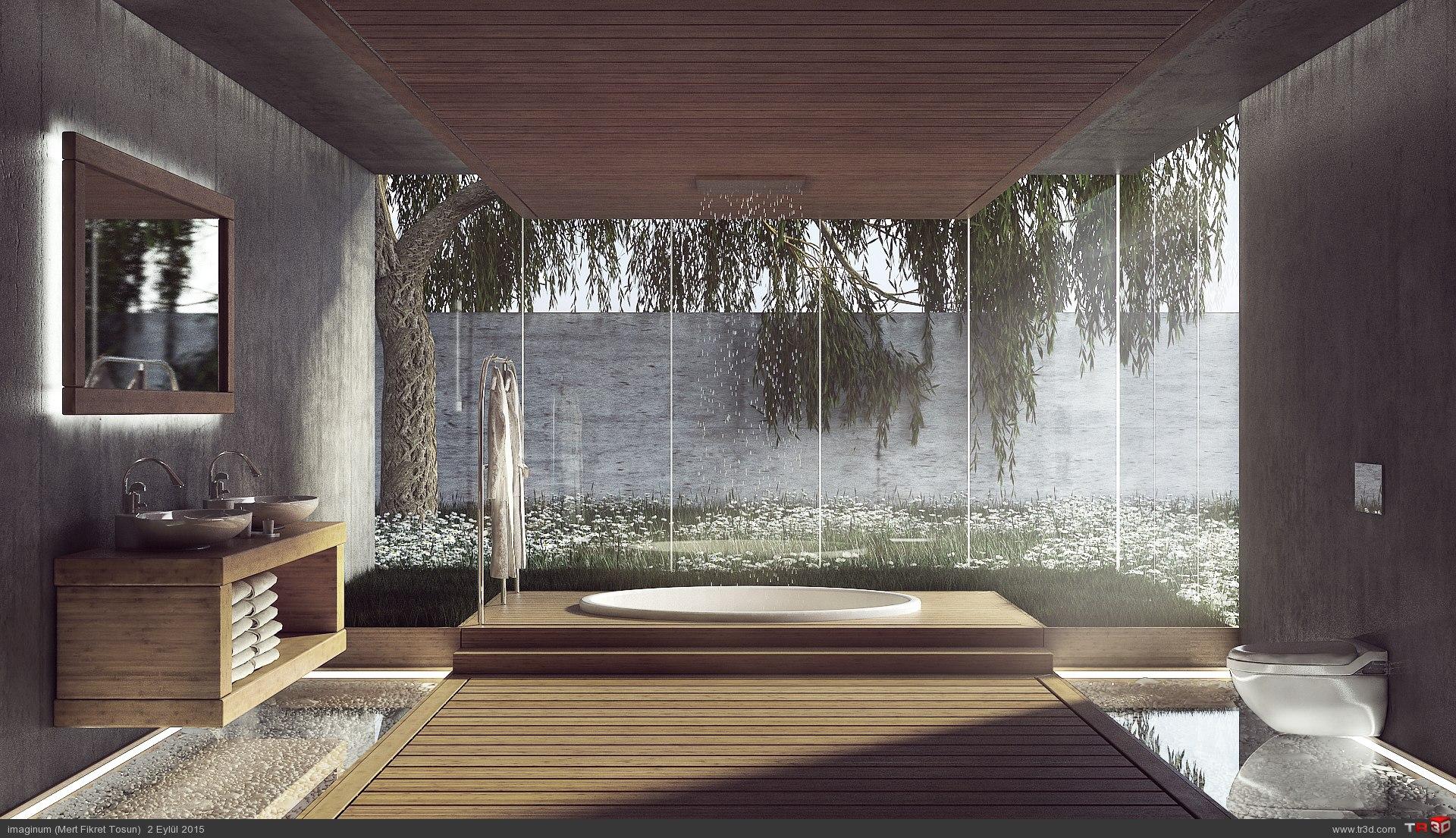 Bahçeli Banyo