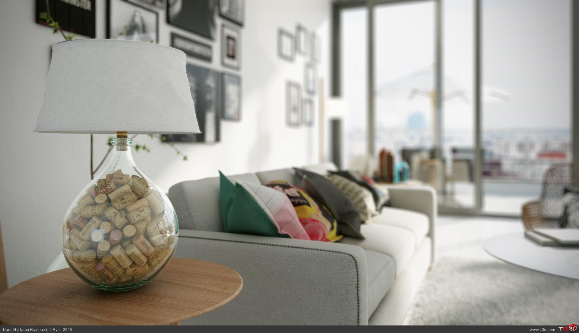 Modern oturma odası 2