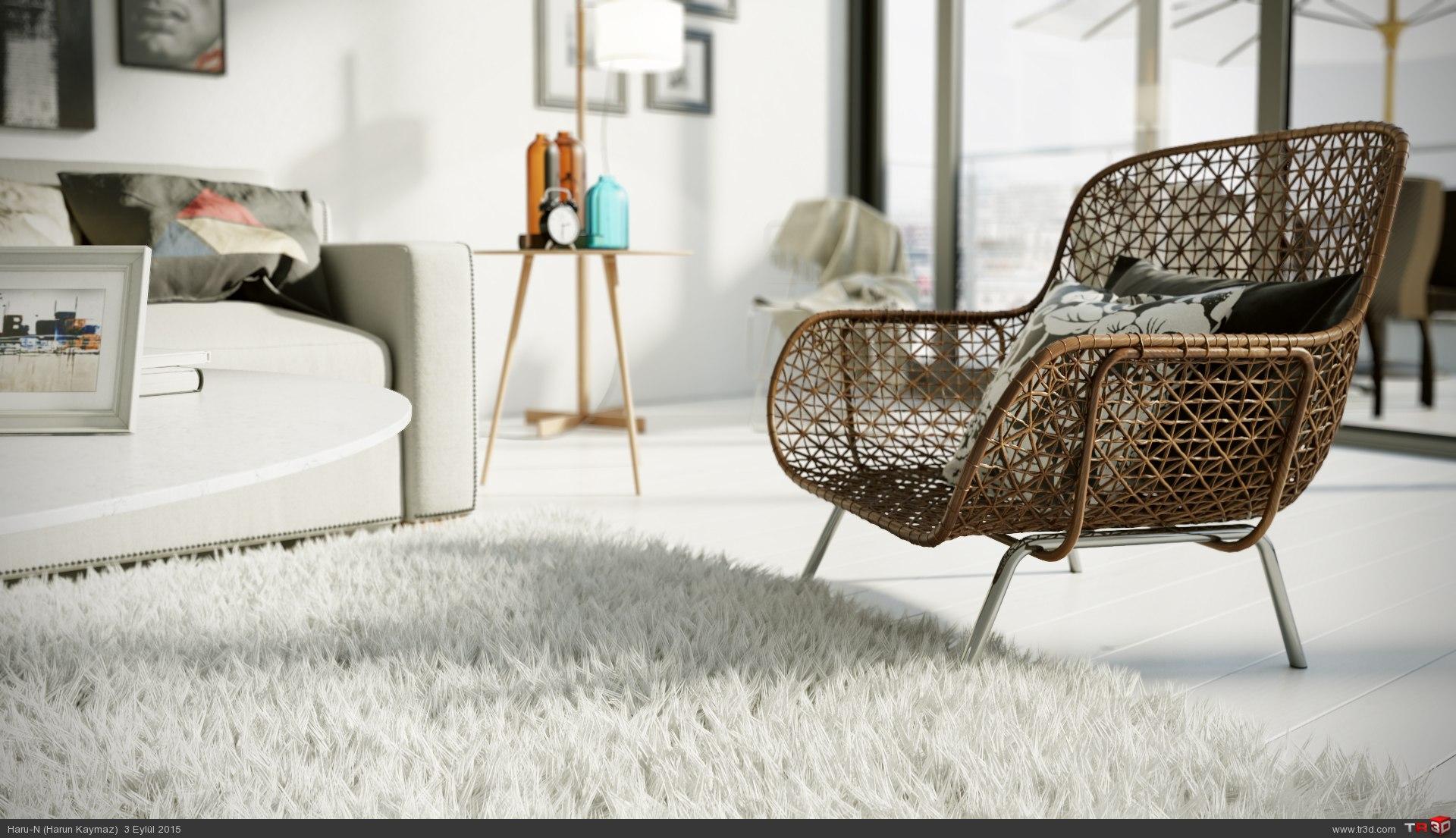 Modern oturma odası 3