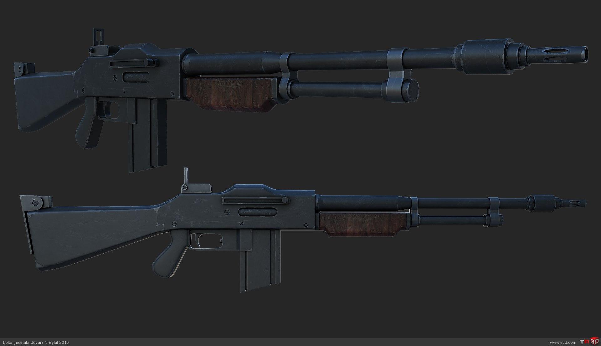 otomatik tüfek / rifle