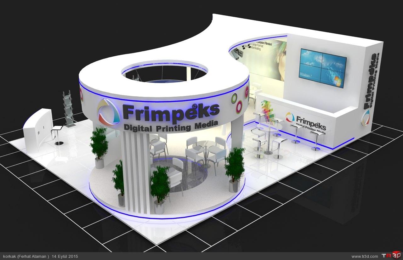 Sıgn 2015 Frimpeks Stand Tasarımı  1