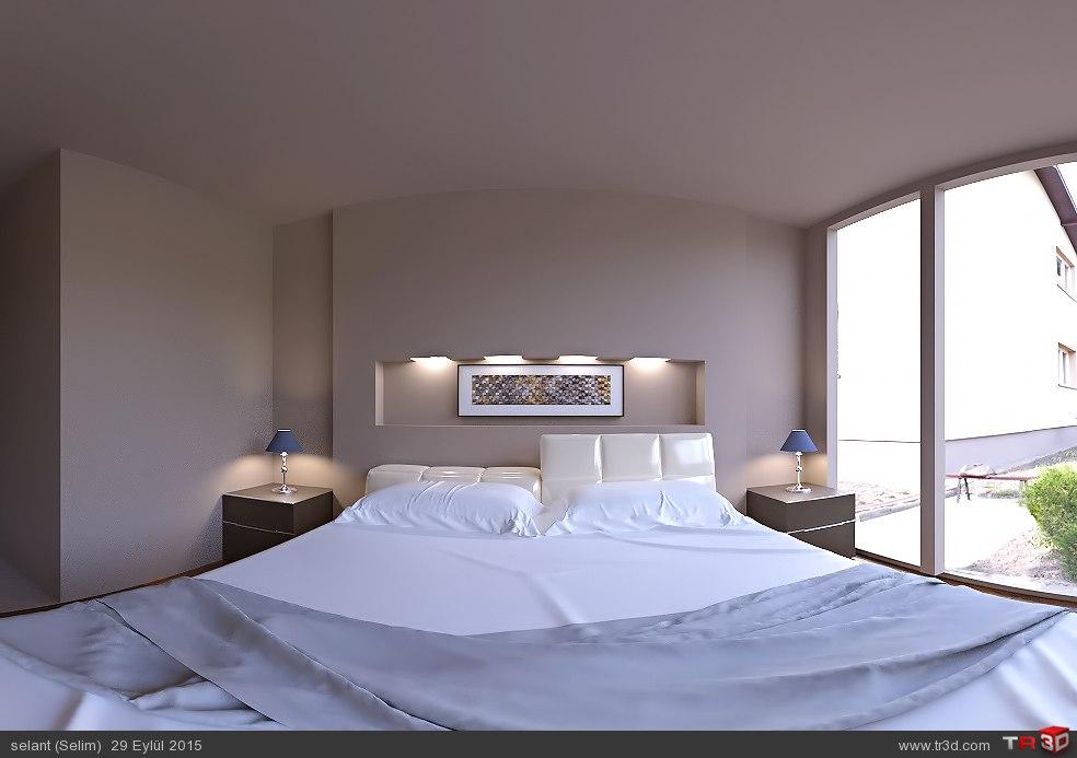 Sade otel odası 1