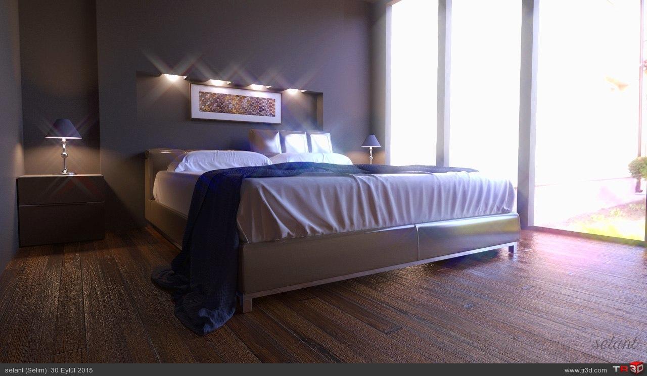 Sade otel odası 2