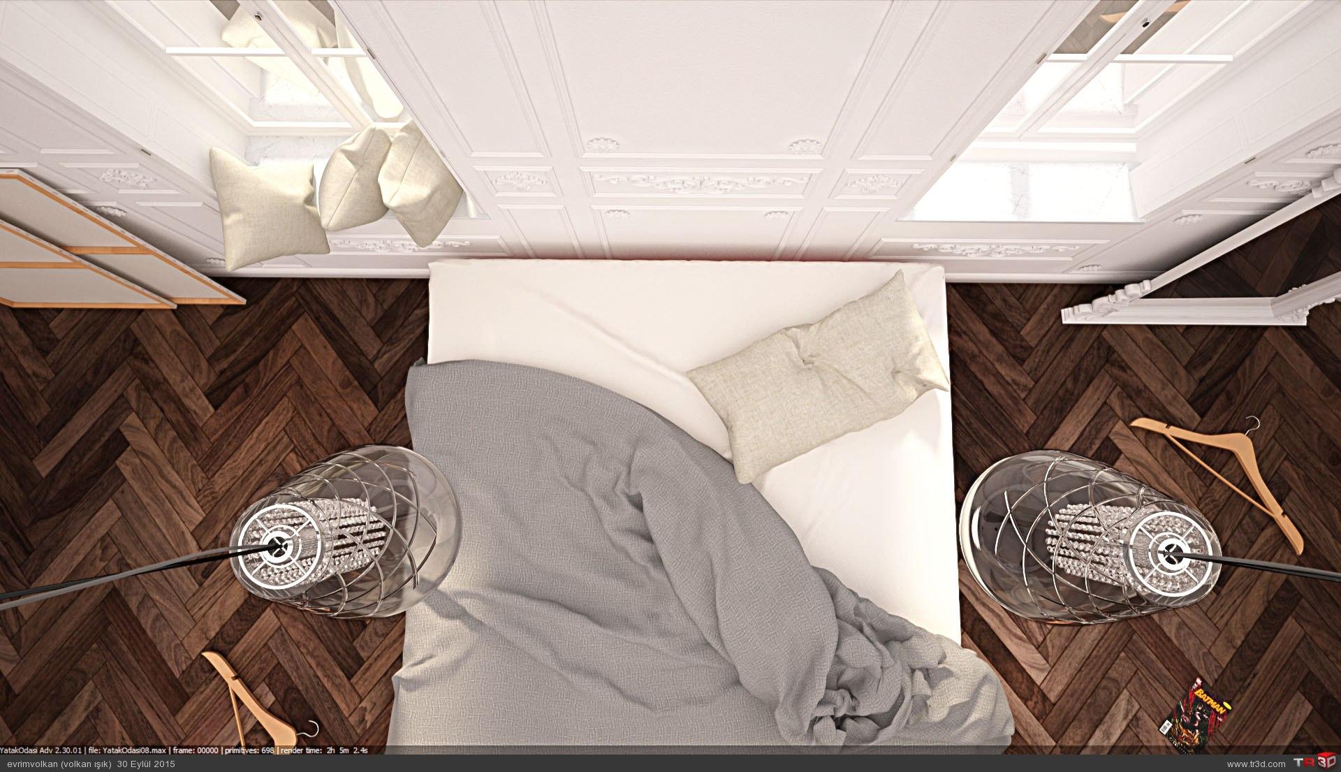 Minimalist yatak odası 2