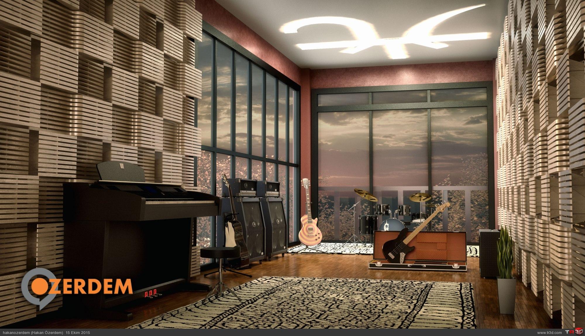 Kişisel Müzik Stüdyosu - Aachen, Almanya
