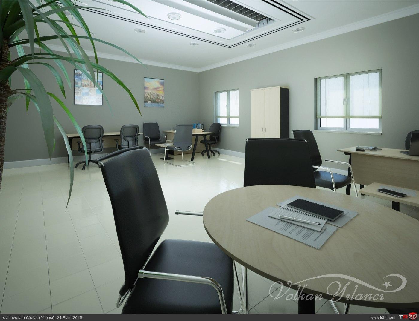 Ofis görselleştirme çalışması 1