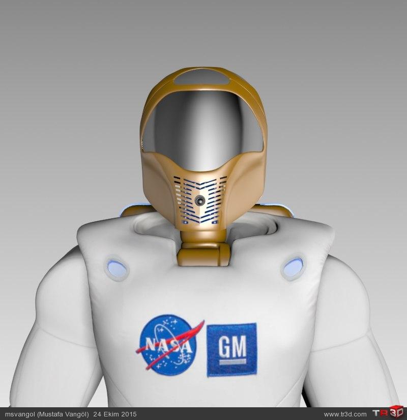 NASA ROBONAUT-2 MODEL (R2)