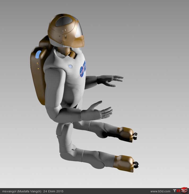 NASA ROBONAUT-2 MODEL (R2) 2