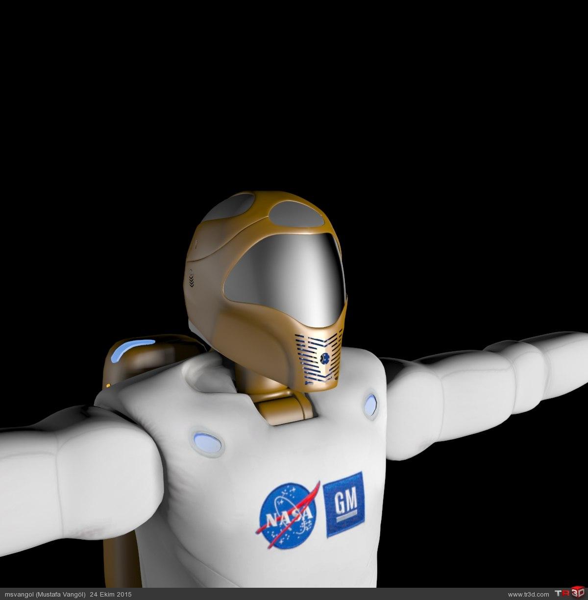 NASA ROBONAUT-2 MODEL (R2) 3