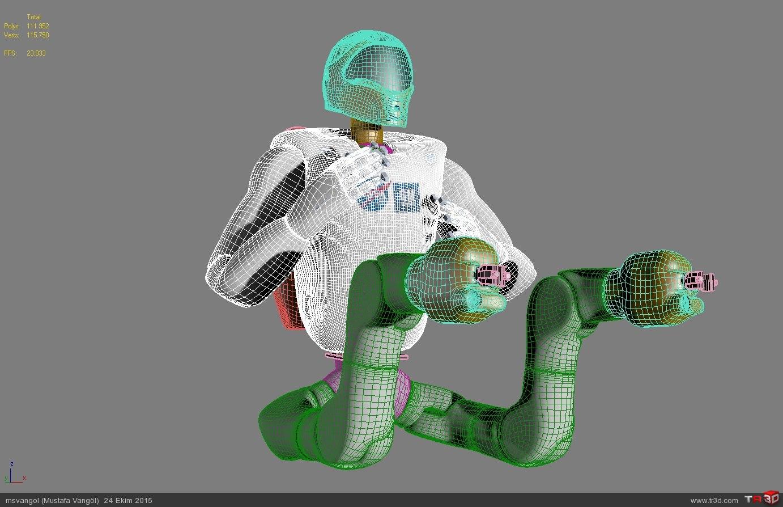NASA ROBONAUT-2 MODEL (R2) 4
