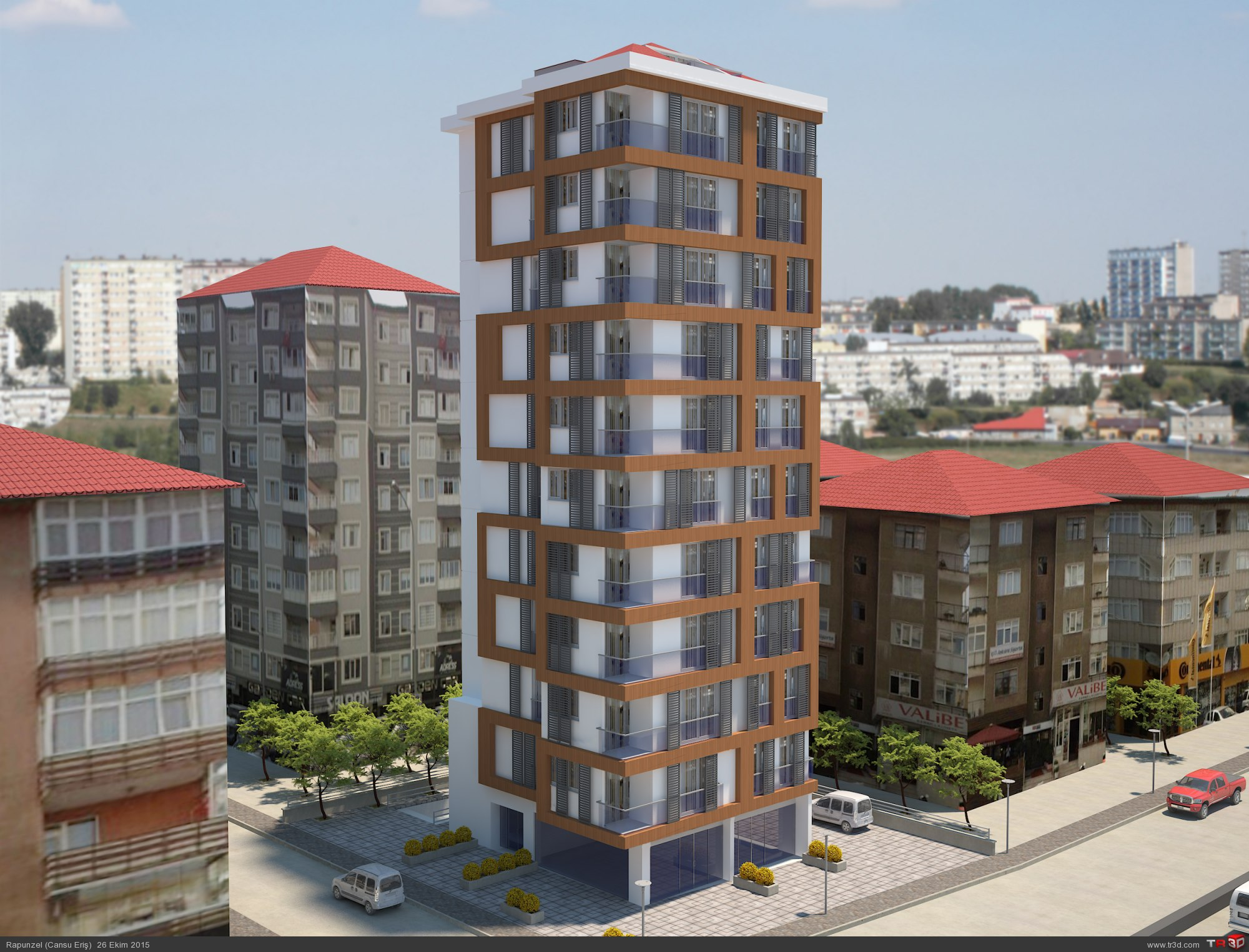 Kadıköy`de Apartman Projesi